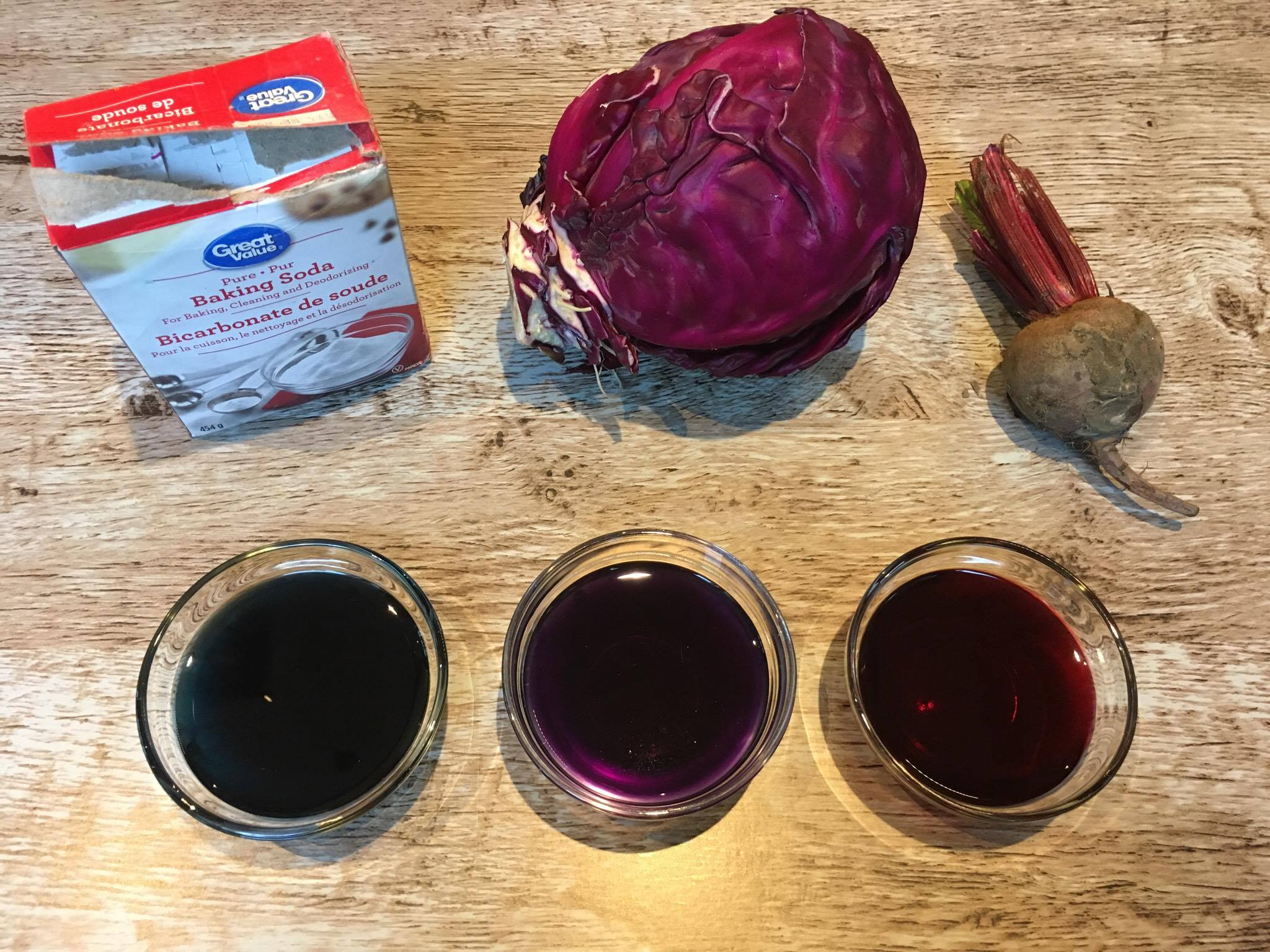 DIY: Natural Food Colouring (Blue, Red and Purple)